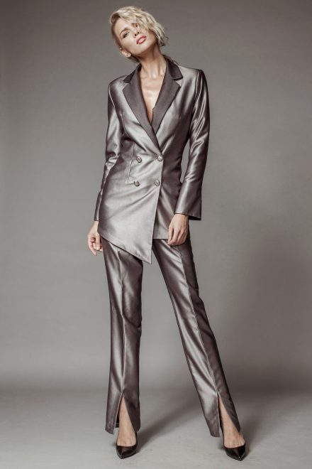 Metallic pantsuit