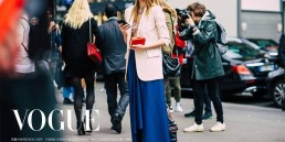 Landiana wearing Aida Lorena Atelier at Street Style Paris Fashion Week Vogue
