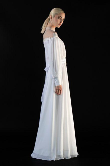 rochie-din-voal-de-matase-cu-maneci-bufante-si-aplicatii-de-nasturi-3-colectia-sfera-by-aida-lorena-atelier